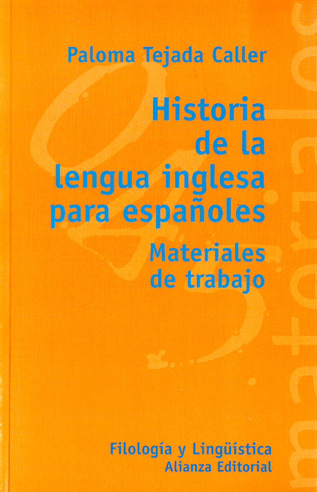 Historia de la lengua inglesa para españoles