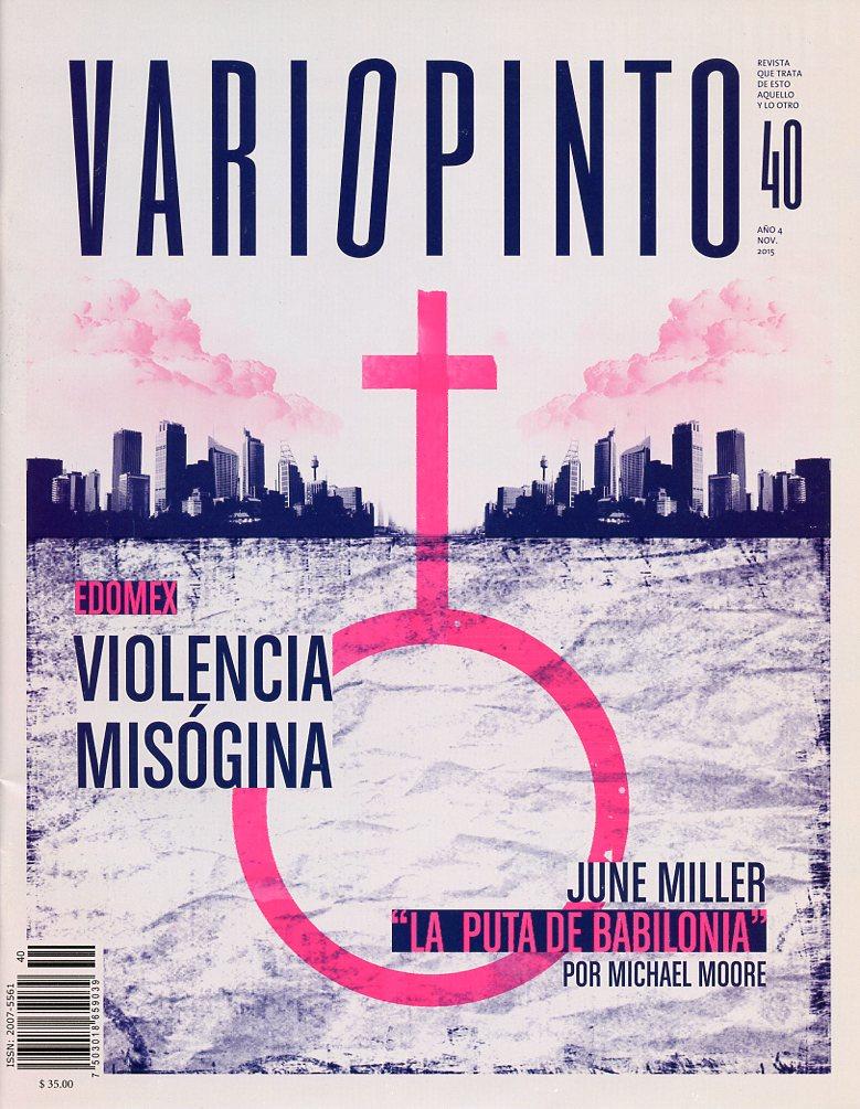 Revista Variopinto No. 40, mes de noviembre 2015
