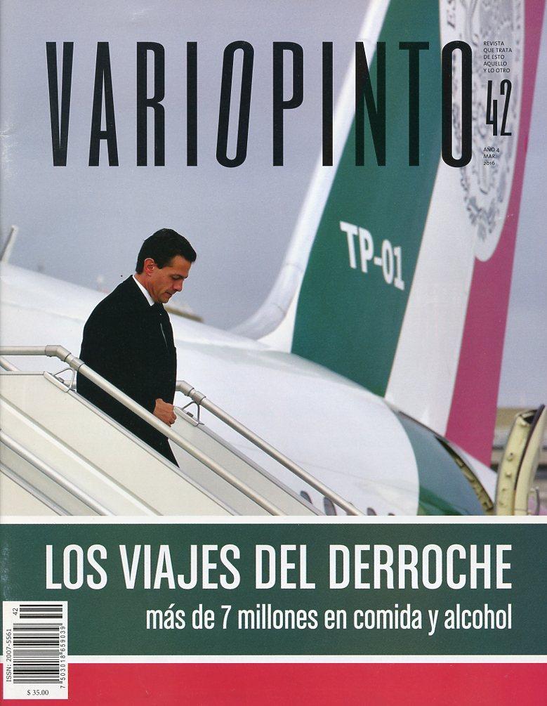 Revista Variopinto No. 42, mes de marzo 2016