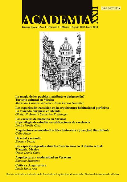 Academia XXII primera época Año 4 No. 7 (agosto 2013-enero 2014)