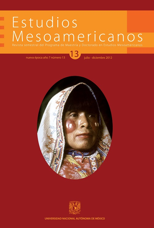 Estudios Mesoamericanos nueva época No. 13