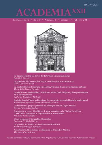 Academia XXII primera época Año 5 No. 8 (febrero 2014)
