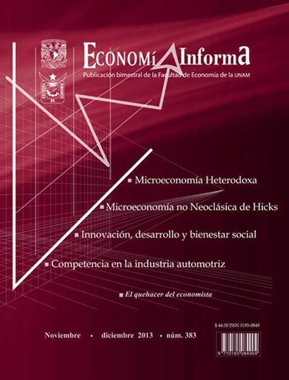 Economía Informa No. 383  noviembre-diciembre 2013