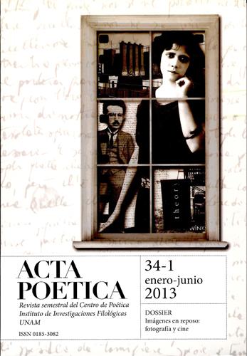 Acta Poética No. 34-1 enero-junio 2013