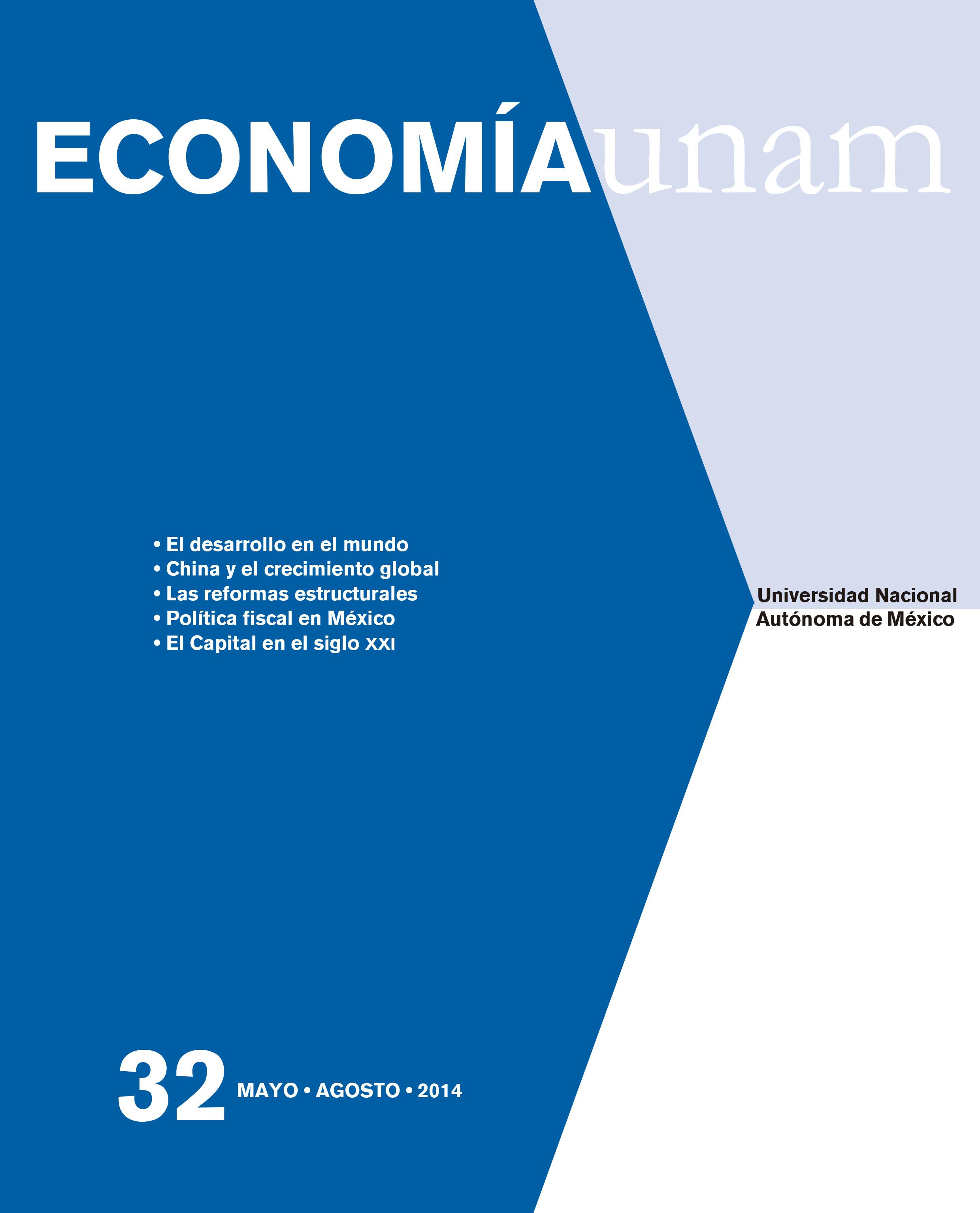 Economía UNAM No. 32 Vol. 11 mayo-agosto 2014