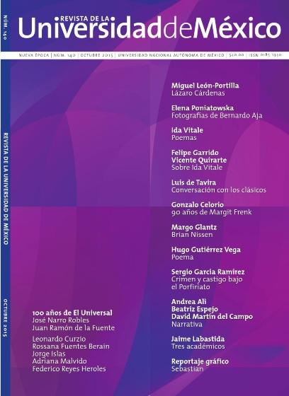 Revista de la Universidad de México Núm. 140