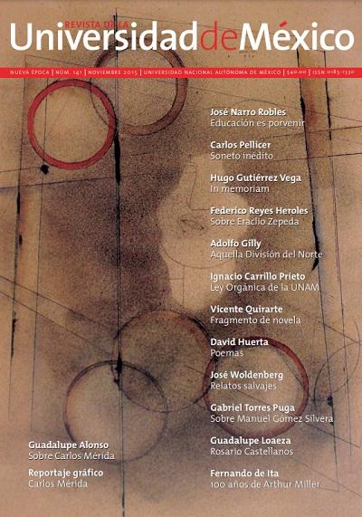 Revista de la Universidad de México Núm. 141