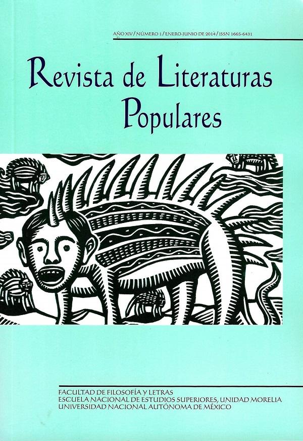 Revista de literaturas populares, año XIV número1 enero-junio de 2014
