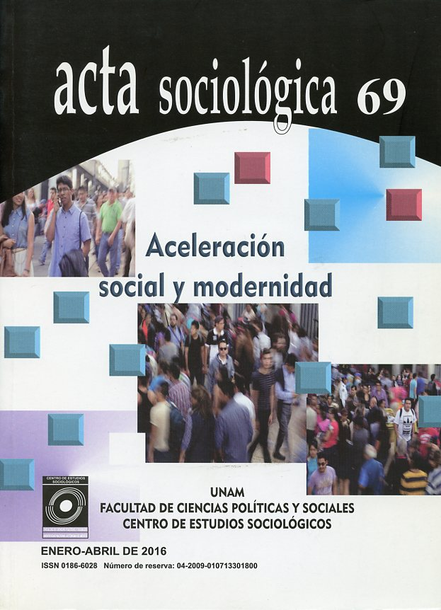 Acta sociológica, número 69 Enero - Abril 2016