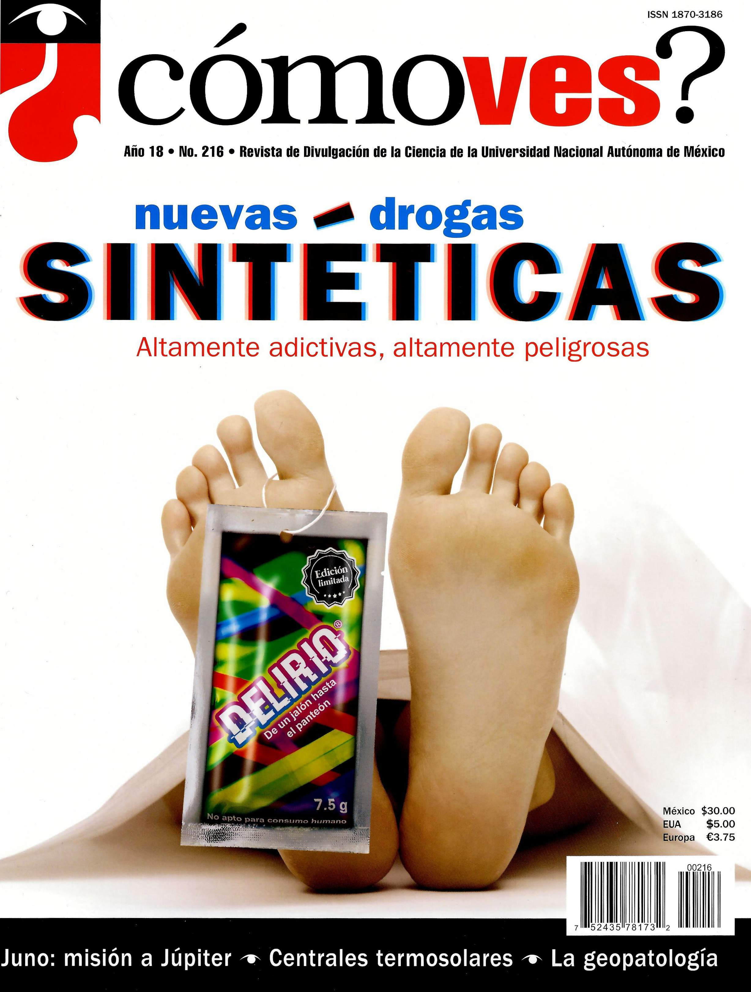 ¿Cómo ves? Revista de divulgación científica, año 18, núm. 216