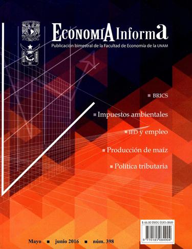 Economía Informa, núm. 398, mayo- junio 2016