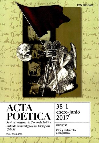 Acta poética 38-1, enero-junio 2017