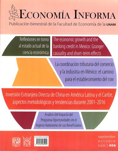 Economía informa, núm. 406, septiembre-octubre, 2017