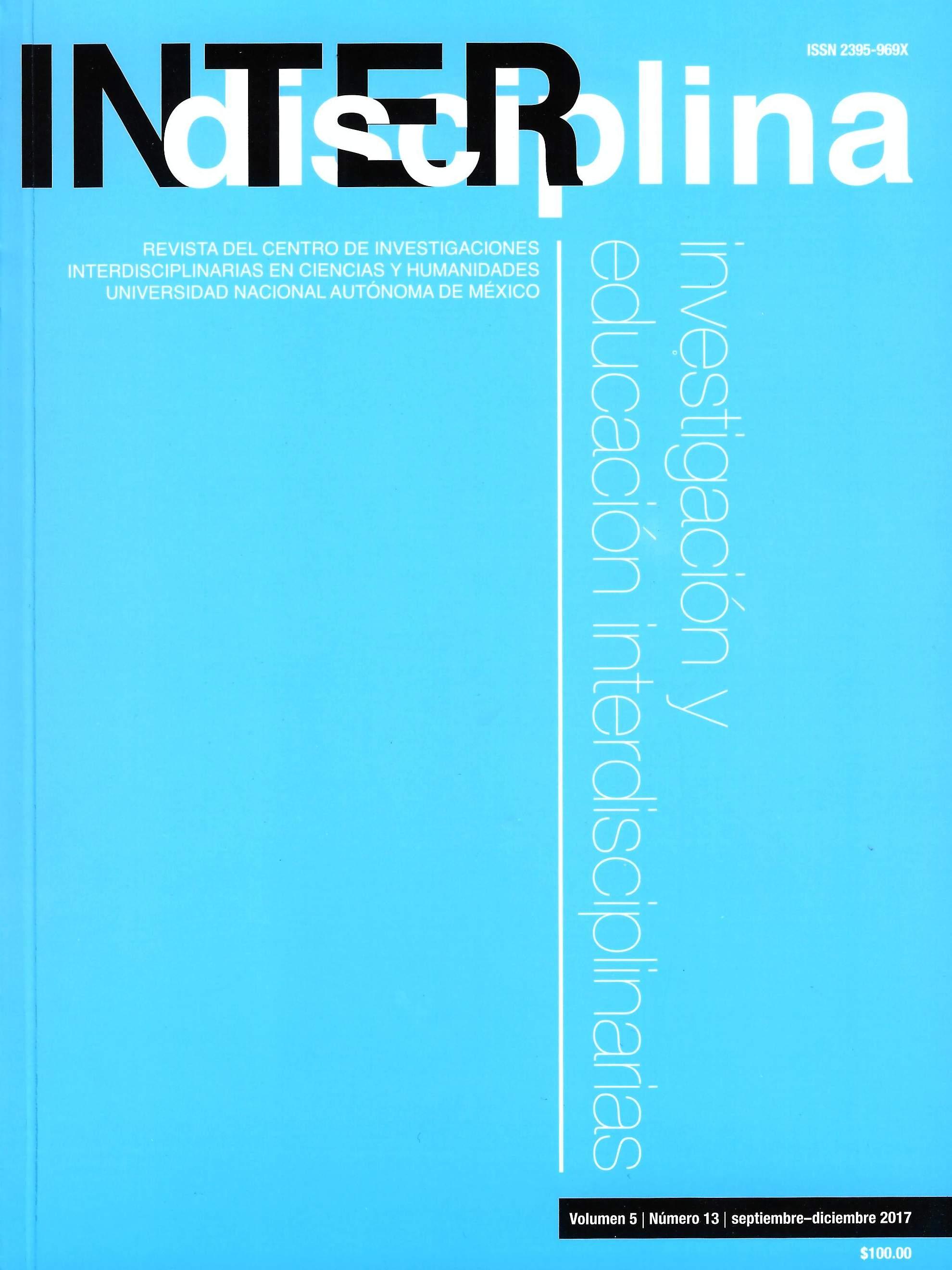 Interdisciplina, Vol. 5, número. 13, septiembre-diciembre 2017