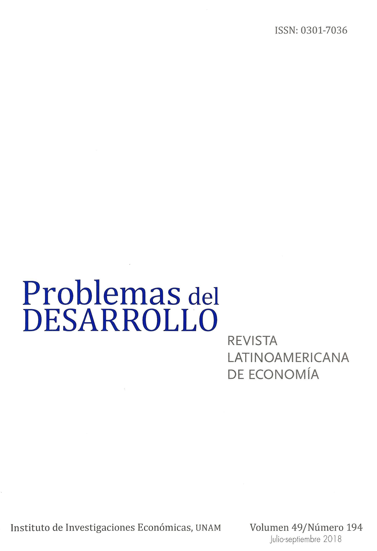 Problemas del Desarrollo. Revista latinoamericana de economía,  vol. 49, núm. 194, julio-septiembre 2018