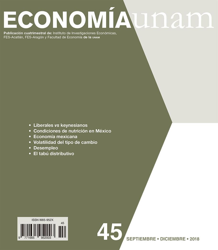 Economía unam, 45, septiembre-diciembre 2018