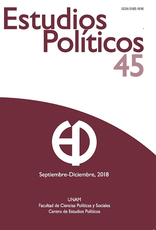 Estudios Políticos, núm. 45, septiembre-diciembre, 2018