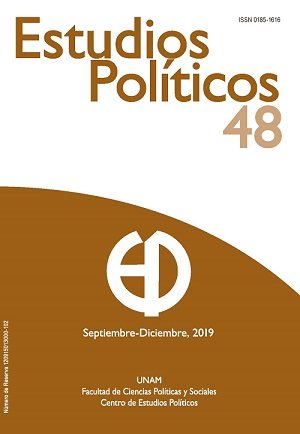 Estudios Políticos. Nueva Época. Núm 48. septiembre-diciembre, 2019