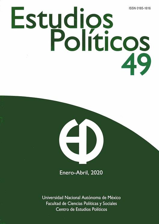 Estudios Políticos. Nueva Época. Núm 49. Enero-abril, 2020