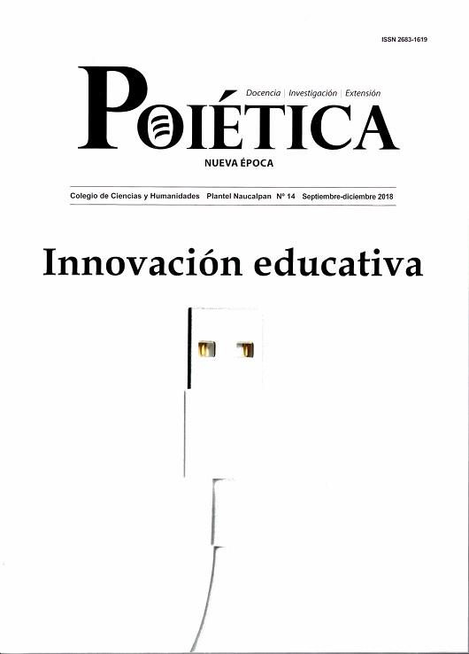 Poiética. Docencia, Investigación, Extensión. Educación, equidad y género. Nueva época, núm. 13, mayo-agosto, 2019