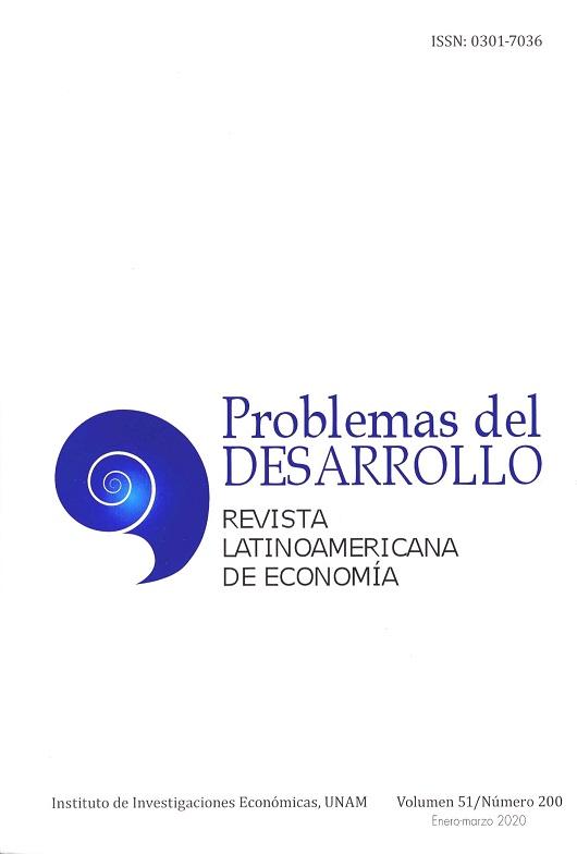 Problemas del Desarrollo. Revista Latinoamericana de Economía, vol. 51, núm. 200, enero-marzo, 2020