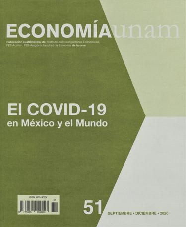 Economía UNAM, núm. 51, septiembre-diciembre, 2020 El COVID-19 en México y el Mundo