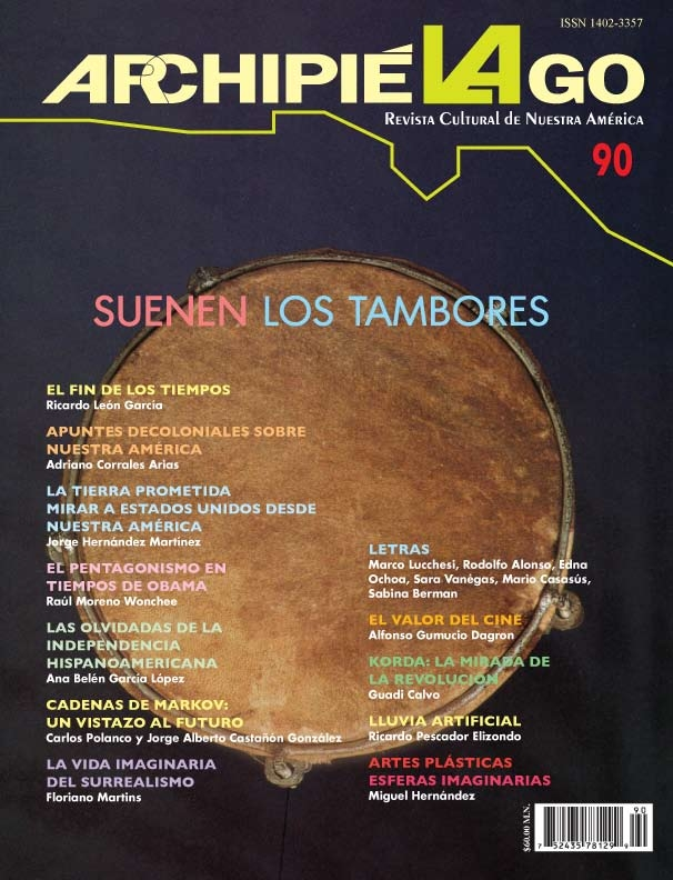 Archipiélago. Revista Cultural de Nuestra América, núm. 90