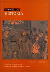 Anuario de historia Vol. 1 México 2007