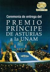 Ceremonia de entrega del premio príncipe de Asturias a la UNAM