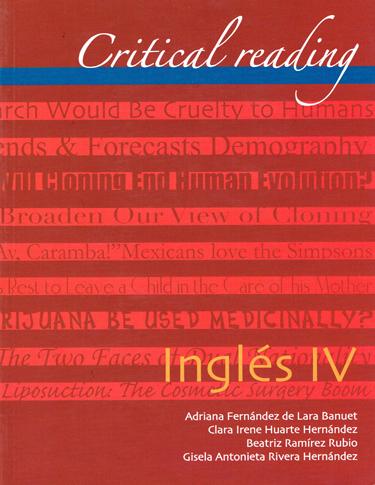 Inglés IV. Critical Reading