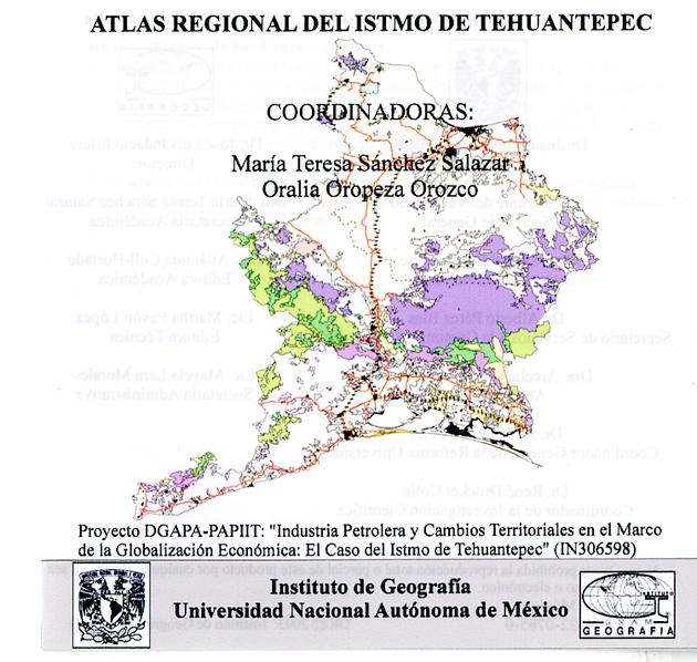 Atlas regional del istmo de Tehuantepec