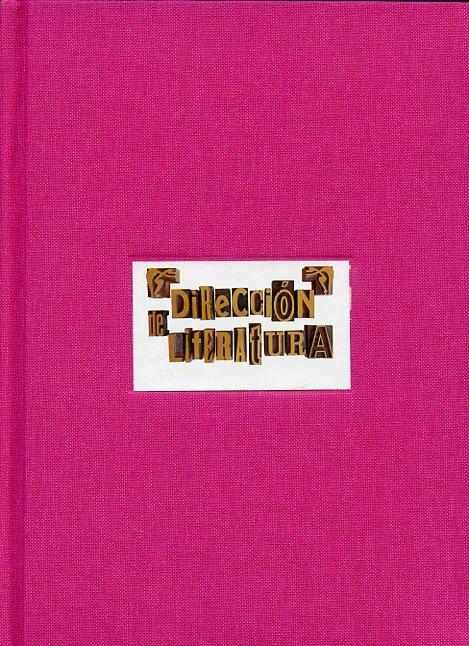Cuaderno de notas pasta rosa