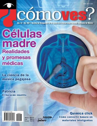 ¿cómoves? año 18, No.207. Revista de Divulgación de la Ciencia de la Universidad Nacional Autónoma de México