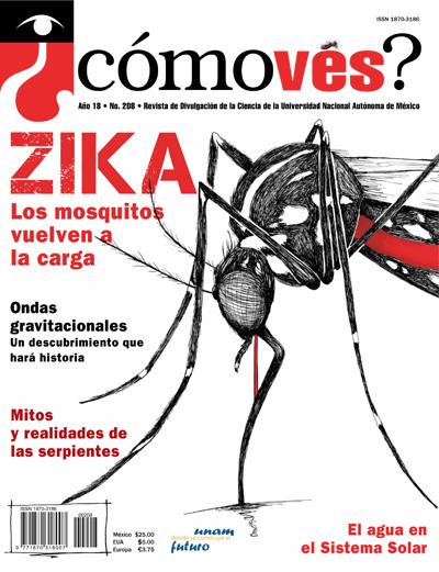 ¿Cómoves? año 18, Número 208, Revista de divulgación de la Universidad Nacional Autónoma de México.