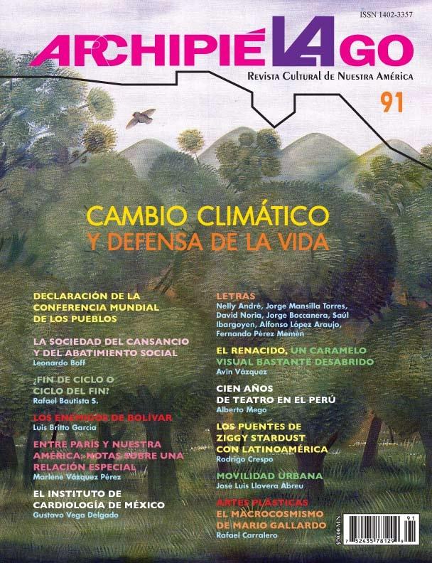 Archipielago. Revista cultural de Nuestra América, núm. 91, 2016