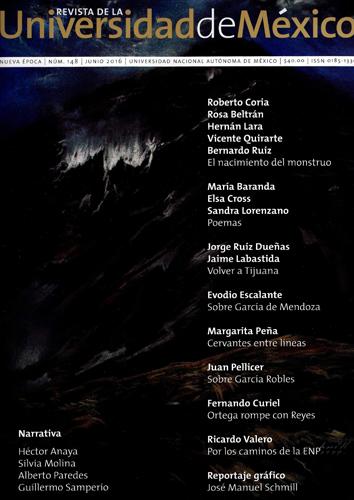 Revista de la Universidad de México, nueva época, n° 148, jun, 2016