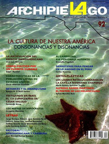 Archipielago. Revista cultural de nuestra América 92