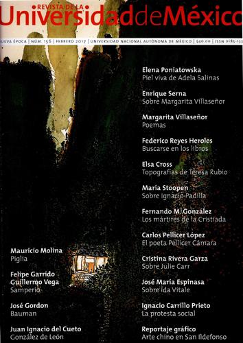 Revista de la Universidad de México, núm. 156, febrero 2017