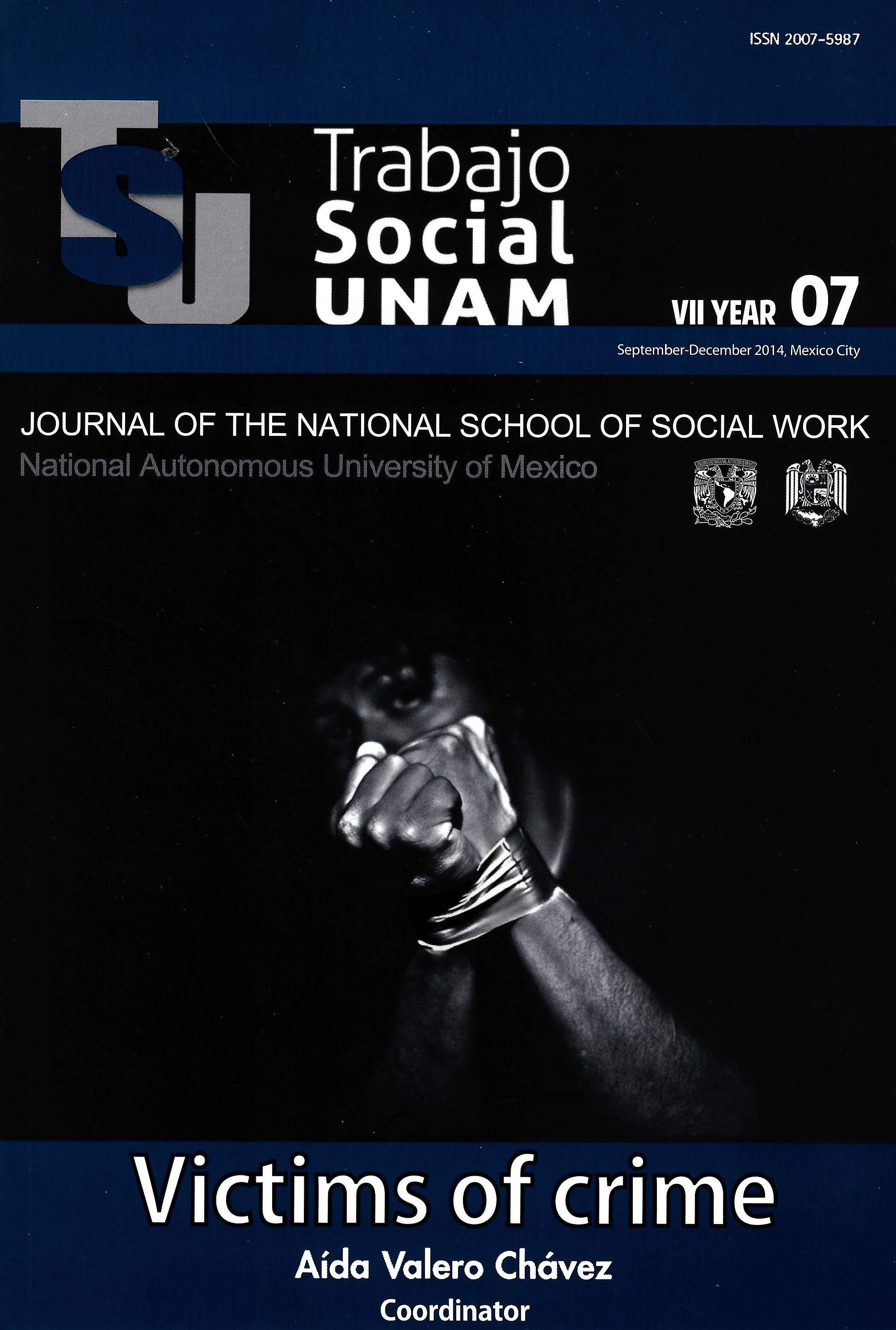 Trabajo Social UNAM. VII year, 07, sep-dec, 2014