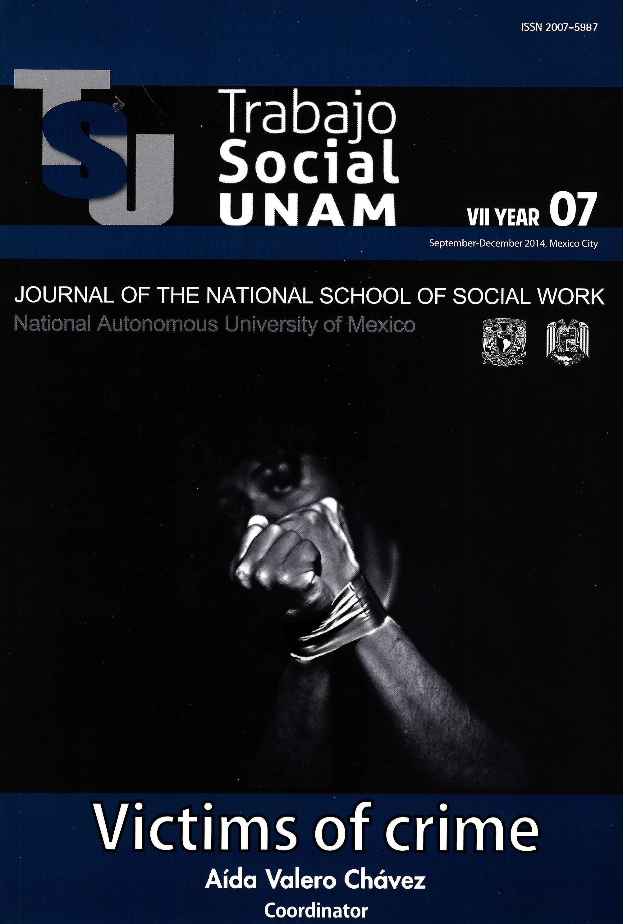 Trabajo Social UNAM. VII year, 07, sep-dec, 2014