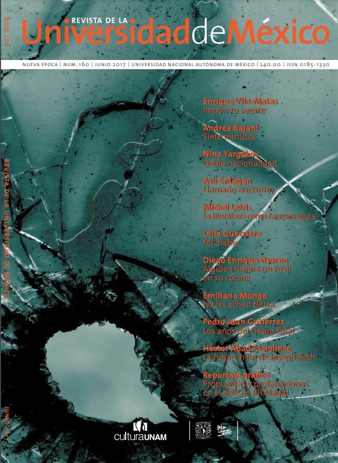 Revista de la Universidad de México, núm. 160, junio, 2017