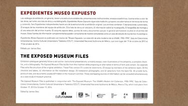 Expedientes Museo Expuesto