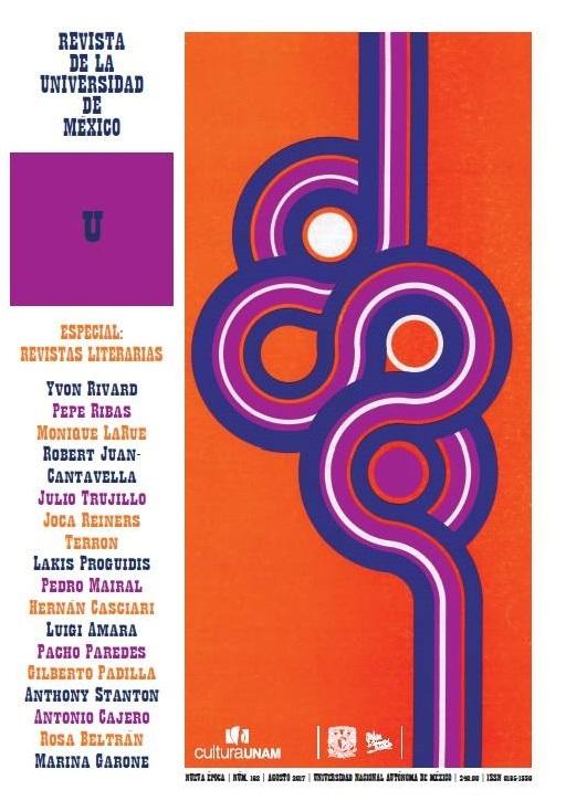 Revista de la Universidad de México, nueva época, núm. 162, agosto 2017