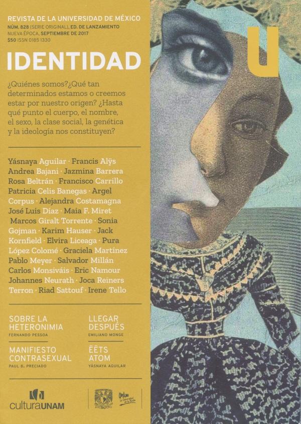 Revista de la Universidad de México, núm. 828 (serie original) Identidad Nueva época, septiembre 2017
