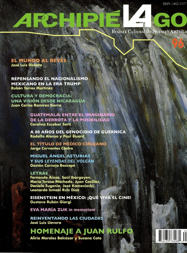 Archipiélago. Revista cultural de nuestra América, núm. 96, abril 2017