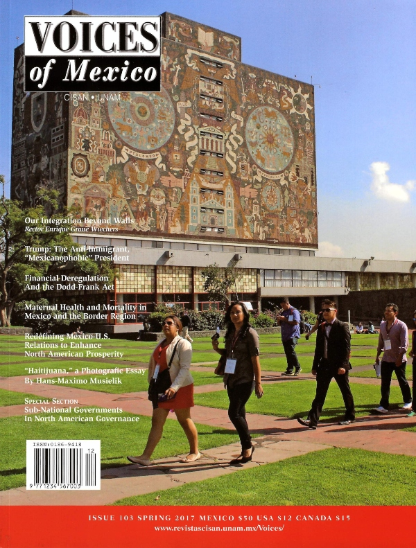 Voices of  Mexico, núm. 103, spring 2017