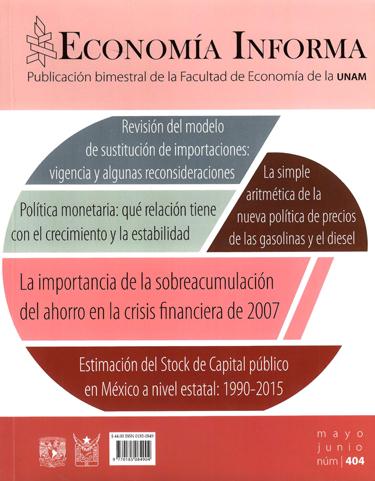 Economía informa, núm. 404, mayo-junioo, 2017