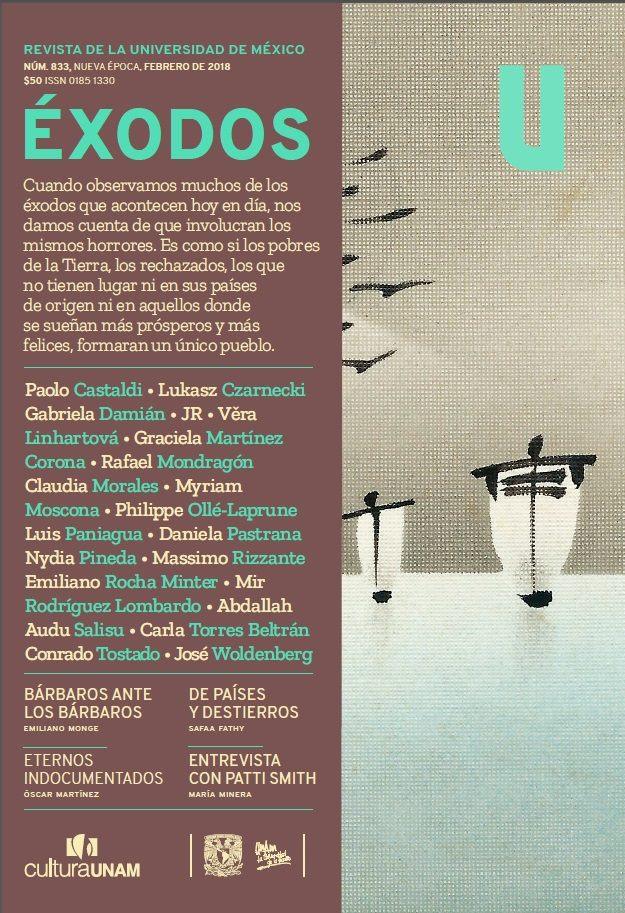 Revista de la Universidad de México, núm. 833, Nueva época, febrero 2018