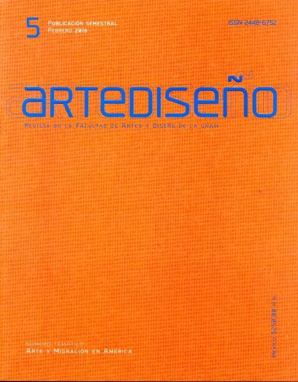 Artediseño. Revista de la Facultad de Artes y Diseño de la UNAM,  núm. 5, febrero 2018
