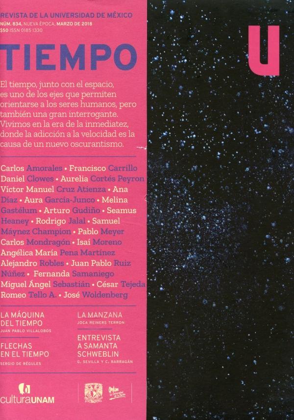Revista de la Universidad de México, núm. 834, Nueva época, marzo 2018
